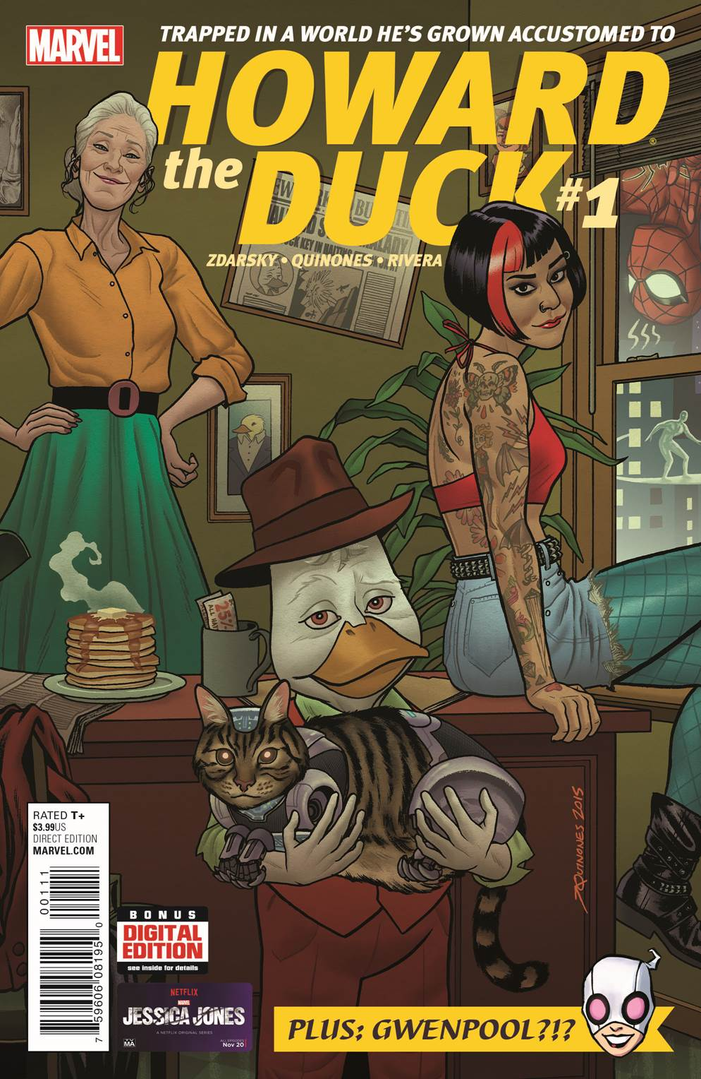 Howard the Duck 1 Cover