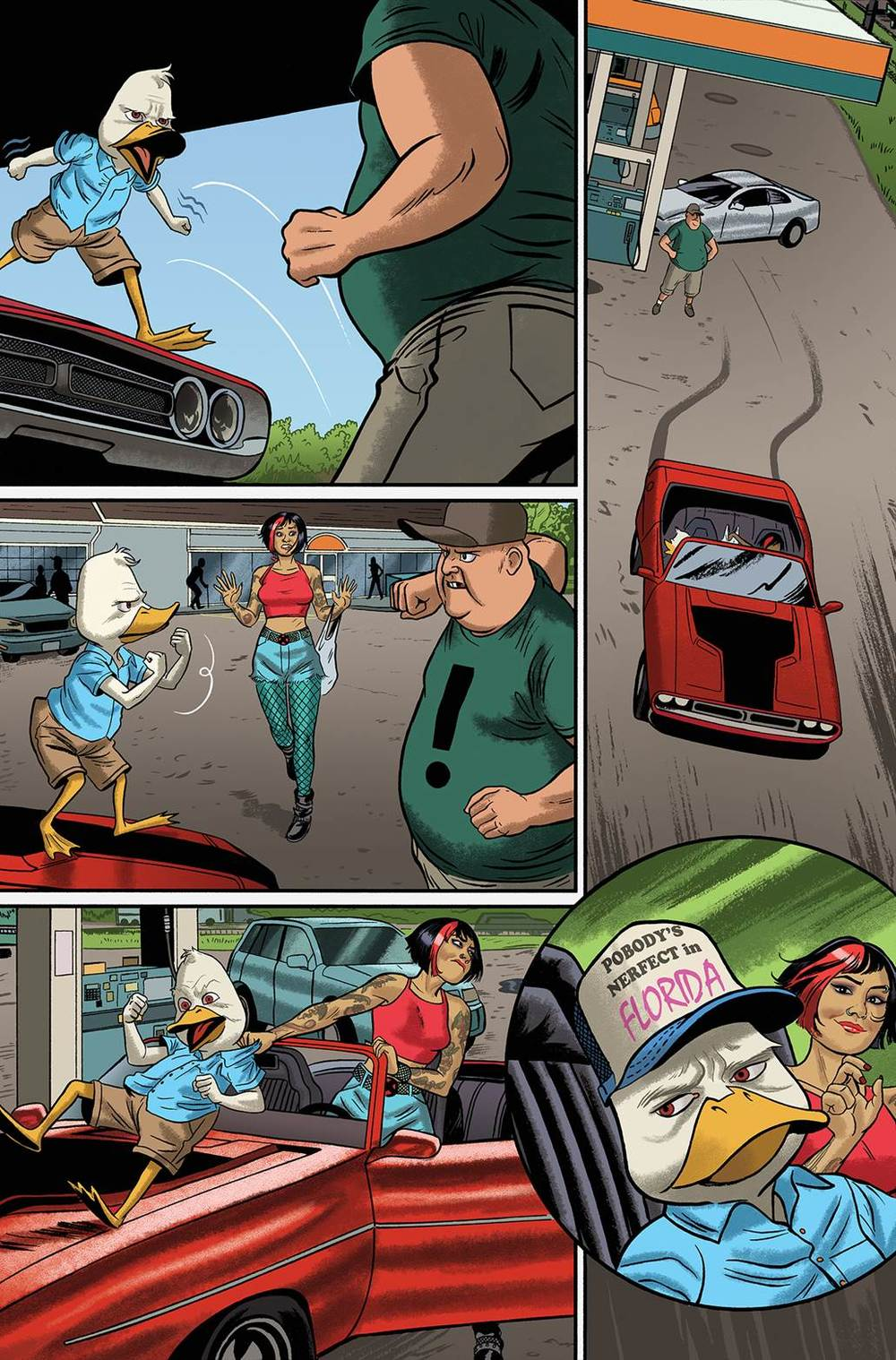 Howard the Duck 1 Preview 1