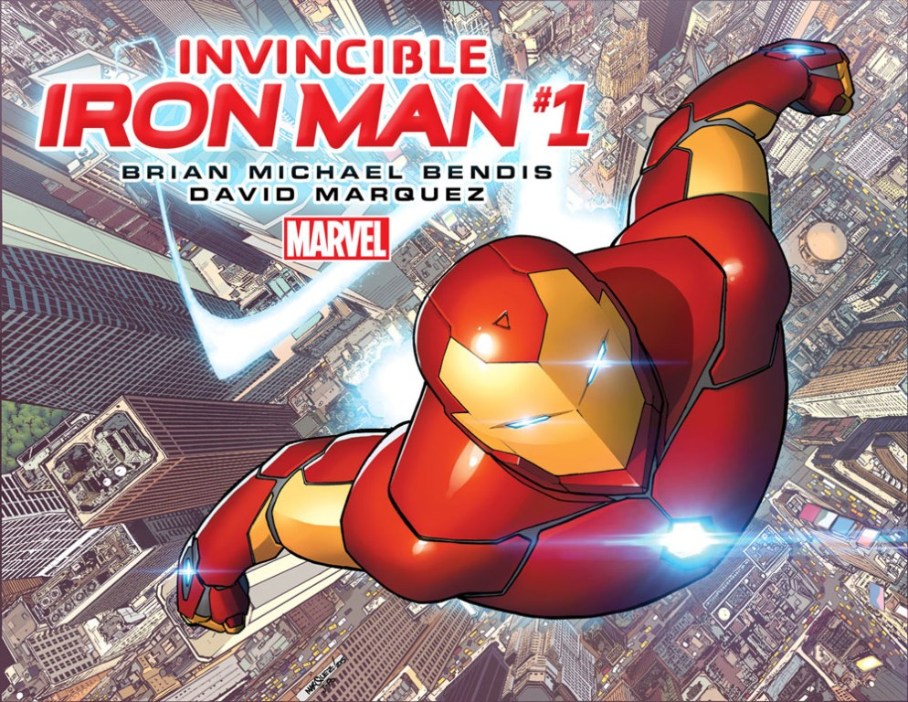 Invincible Iron Man 1 Cover