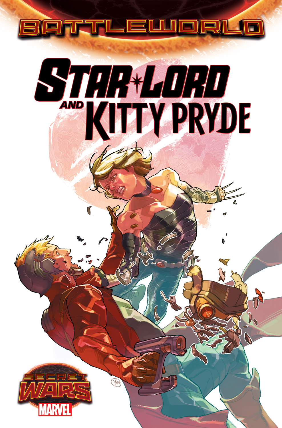 Star-Lord  Kitty Pryde 1 Cover