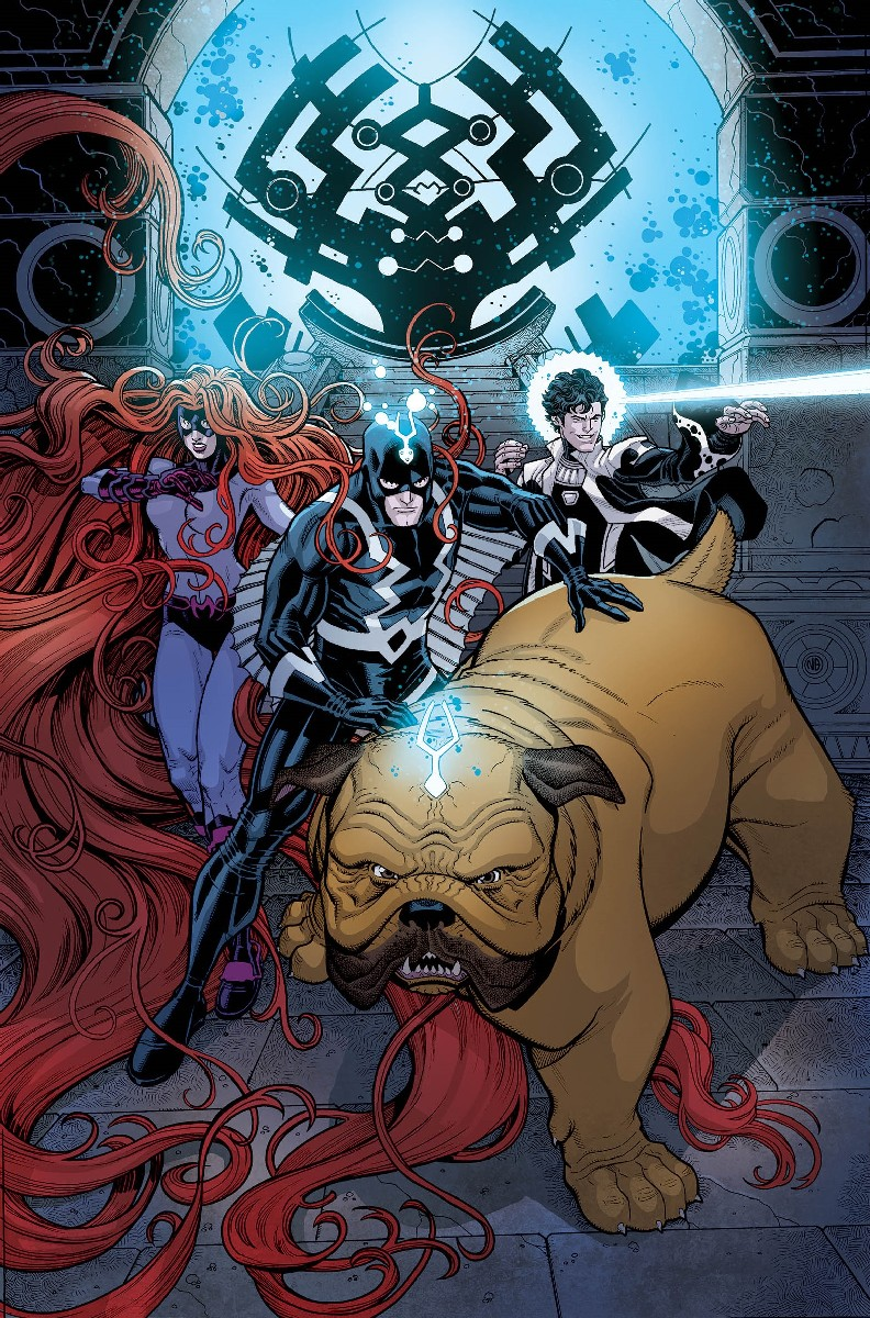 Inhumans Once and Future Kings 1 Cover by Nick Bradshaw