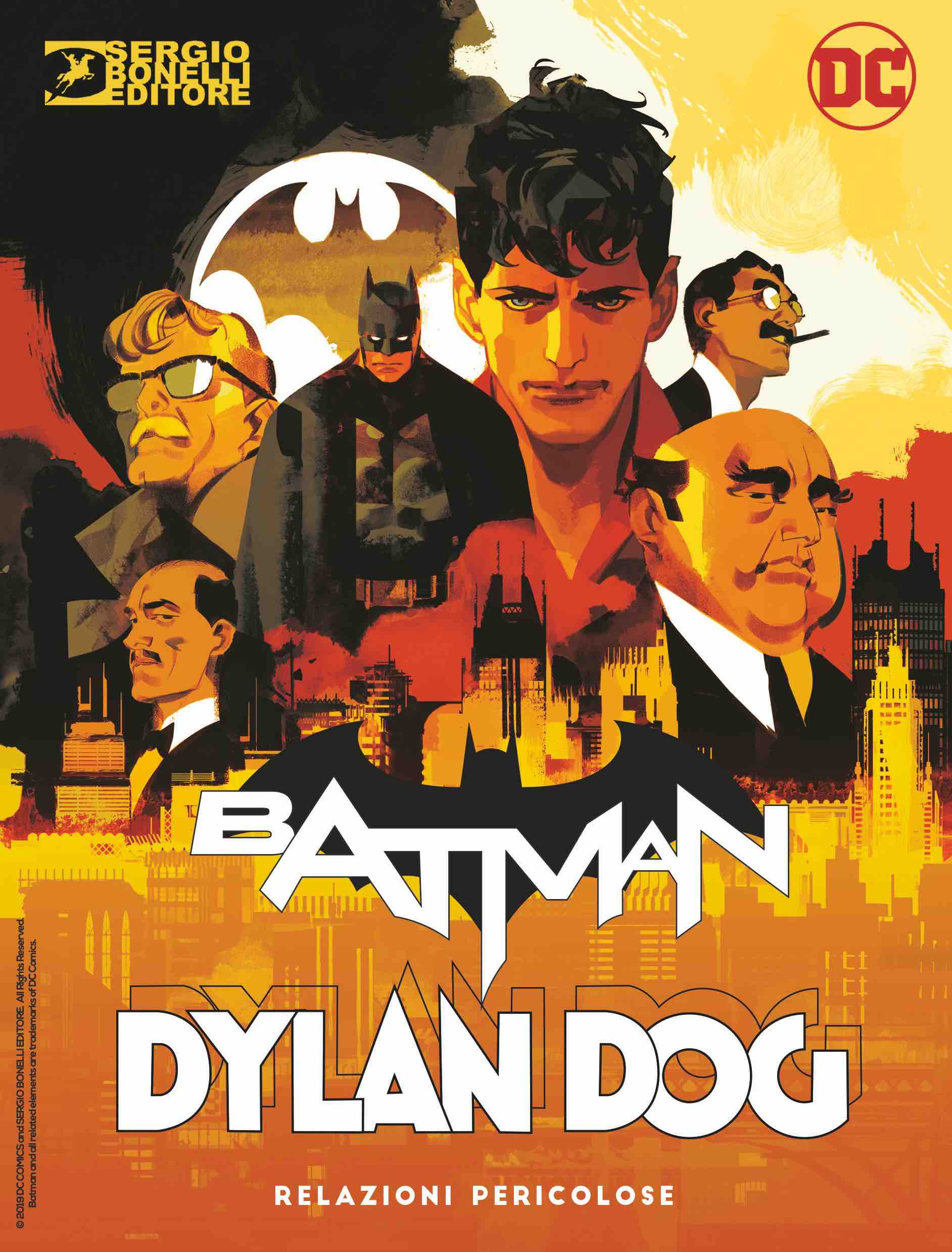 Cover DylanDog Batman