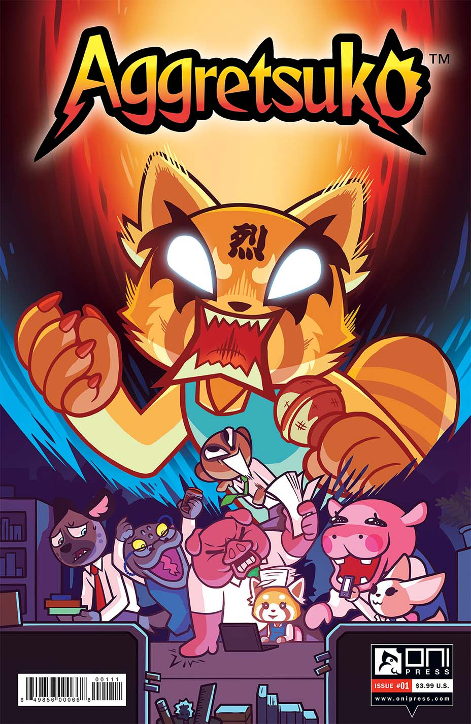 aggretsuko 1 - cover a solicit web-embed 2019