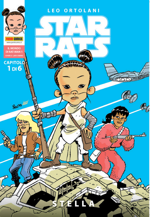 STAR RATS cover A