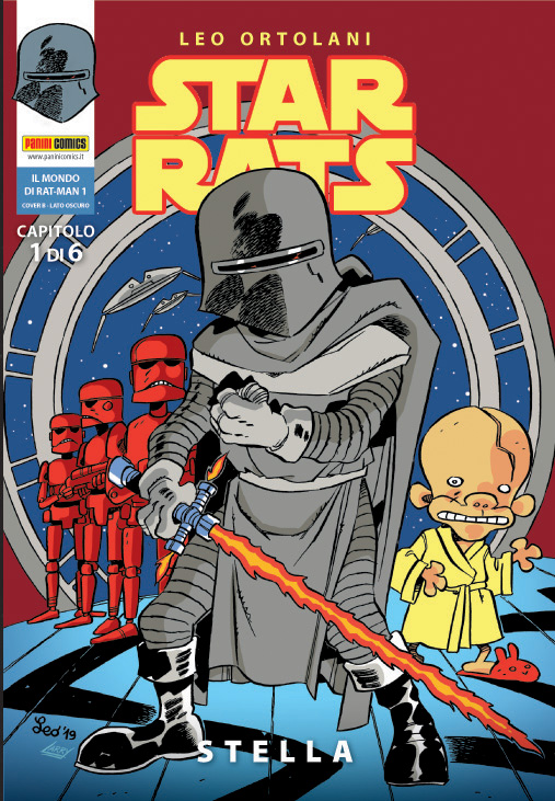 Star Rats cover B