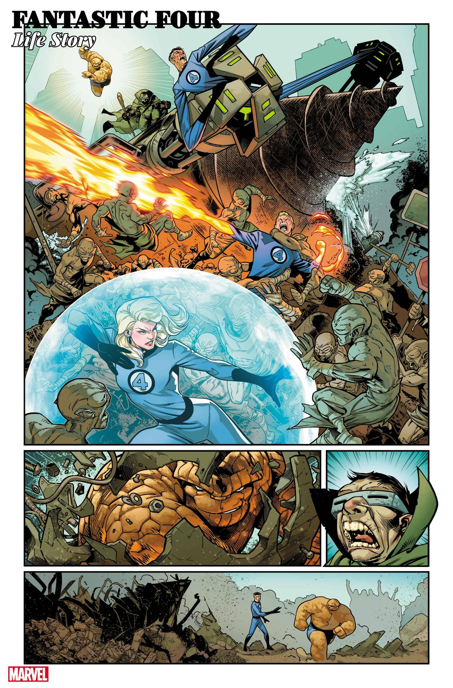 Fantastic Four Life Story 4
