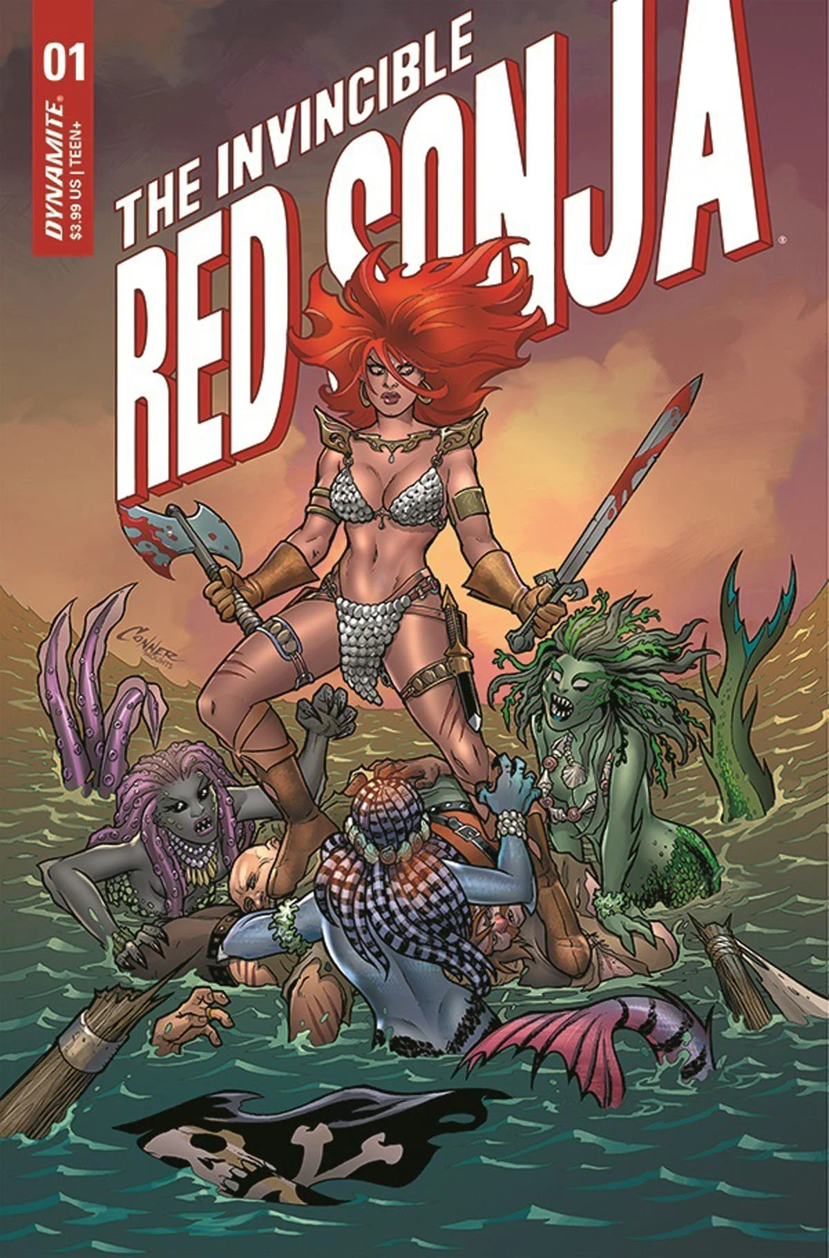 invincible red sonja 1