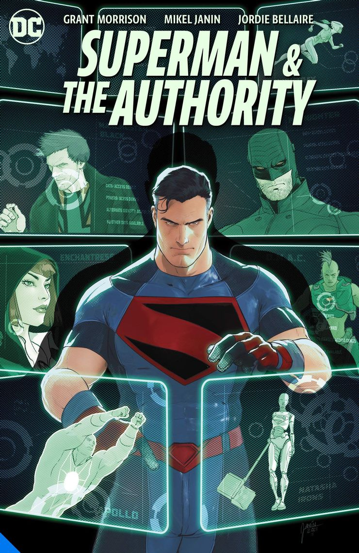 superman and the authority cover