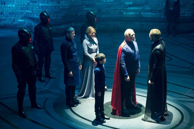 House-of- El-in- Krypton- TV- Series
