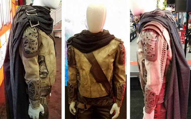 SDCC'16: Guardians of the Galaxy Vol. 2, il costume del padre di Peter Quill