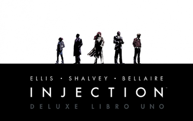 Saldapress pubblica la versione Deluxe di Injection di Warren Ellis