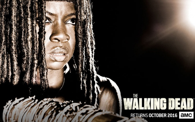 I character poster di The Walking Dead 7