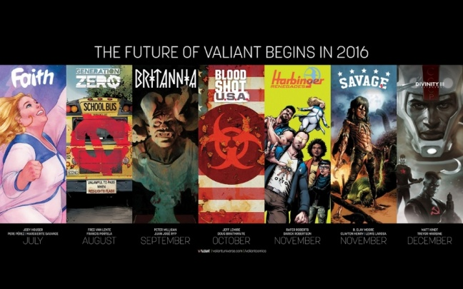 The Future of Valiant: annunciate 6 nuove serie affidate a nomi importanti