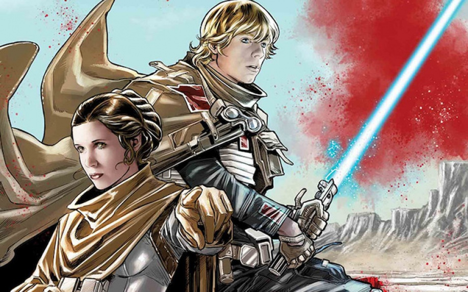 Luke e Leia uniti nello speciale Star Wars: The Last Jedi – Storms of Crait