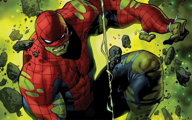 Spider-Man diventa l'Immortale Hulk per un nuovo one-shot