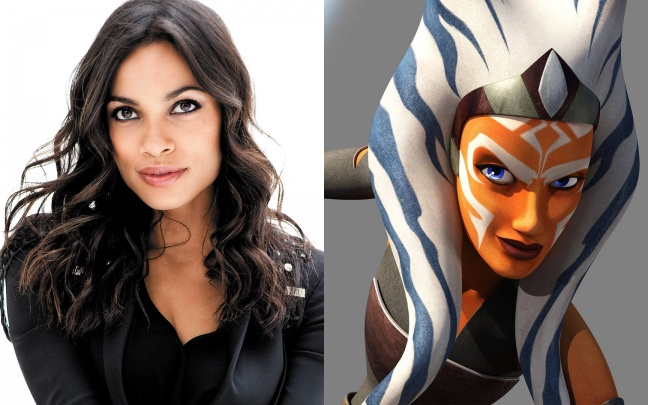 Star Wars: Rosario Dawson sarà Ahsoka Tano in The Mandalorian 2