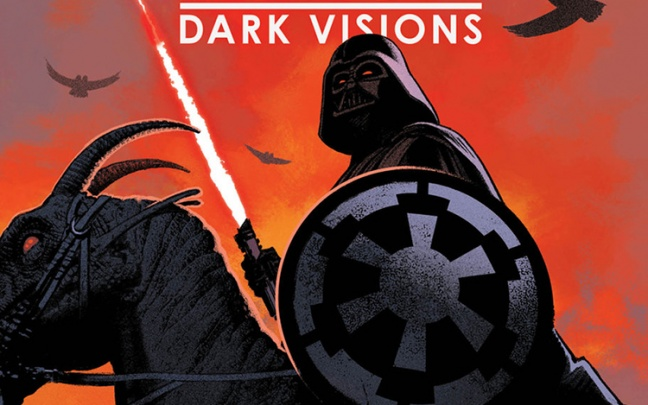 Star Wars: un inedito Darth Vader nella mini Dark Vision