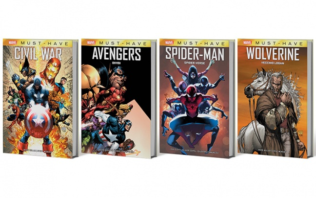 Panini Comics lancia la collana Marvel Must Have