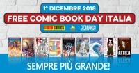 Bonelli, Panini e RW presentano il Free Comic Book Day <b>Italia</b> 2018