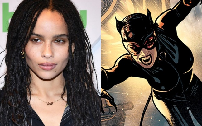 Zoe Kravitz sarà Catwoman nel film The Batman