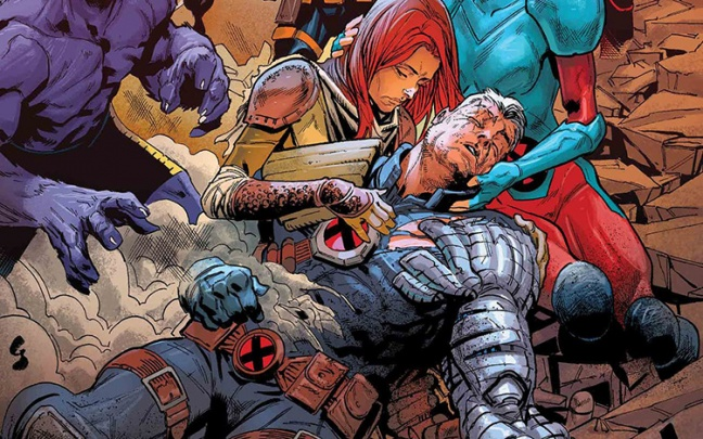 La morte di Cable in X-Men: The Exterminated # 1