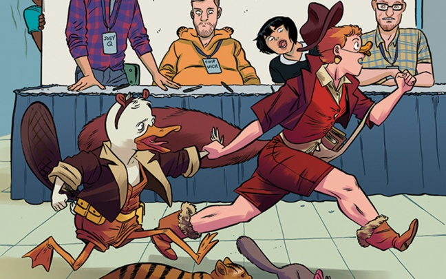 Brevi NYCC: crossover Howard the Duck e Squirrel Girl, team Batman/Superman, graphic novel Buffy