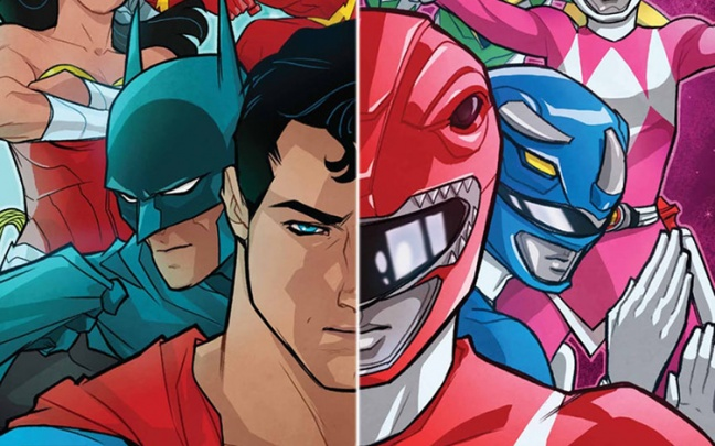 Anteprima di Justice League/Power Rangers #1