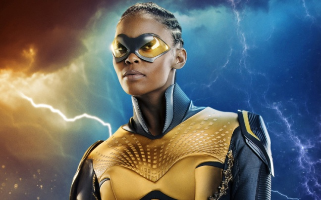 Black Lightning: prima immagine di Nafessa Williams come Thunder