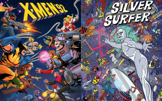Silver Surfer e X-Men '92 continueranno nell'All New, All Different Marvel