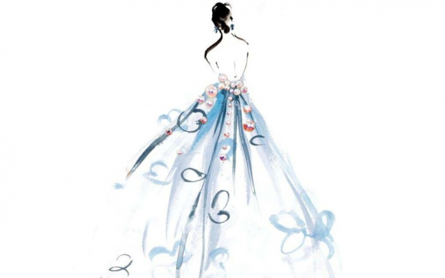 Drawing Fashion: le voluminose forme eteree di Katie Rodgers