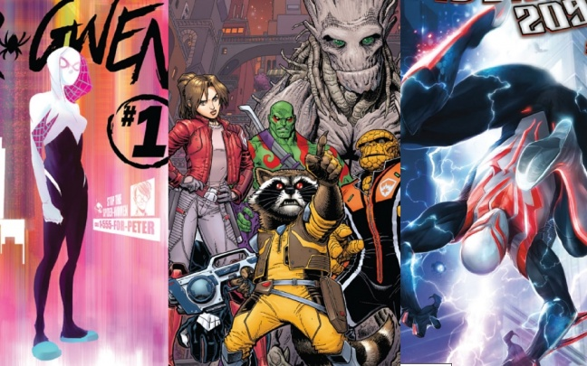 Anteprime Marvel: Spider-Man 2099, Spider-Gwen e Guardians of the Galaxy