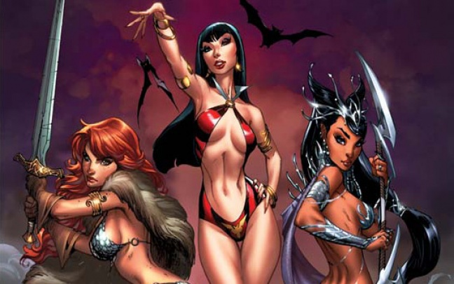 Dynamite presenta Swords of Sorrow