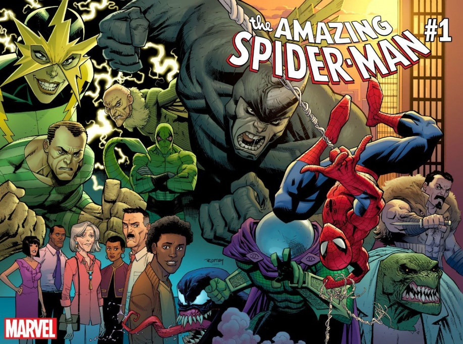 Fresh Start: svelato il nuovo team artistico di Amazing Spider-Man