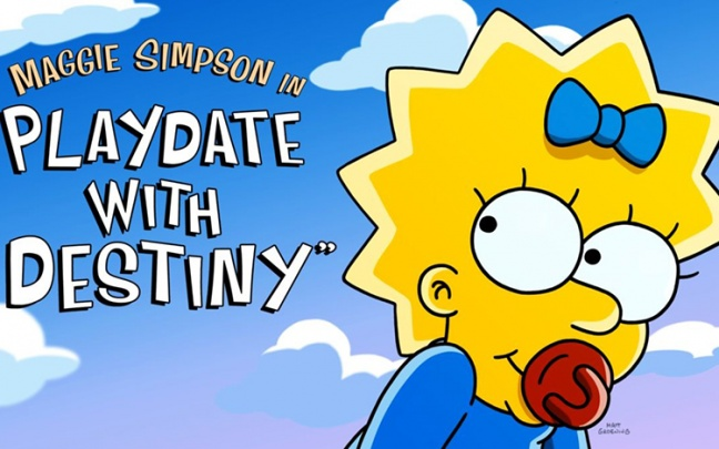 Su Disney+ il corto inedito dei Simpson Playdate with Destiny
