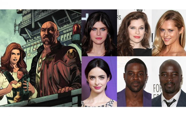 Gli attori in lizza per i ruoli di Jessica Jones e Luke Cage: UPDATE