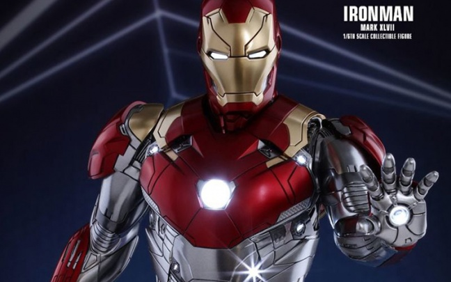 Spider-Man: Homecoming: la nuova armatura di Iron Man nella figure Hot Toys