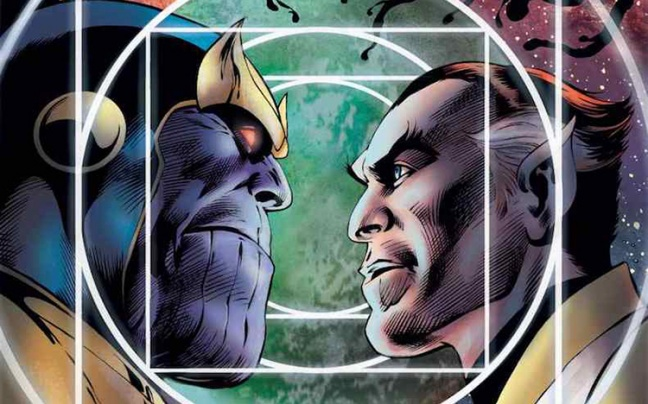 Primo sguardo a Thanos: The Infinity Siblings di Jim Starlin e Alan Davis