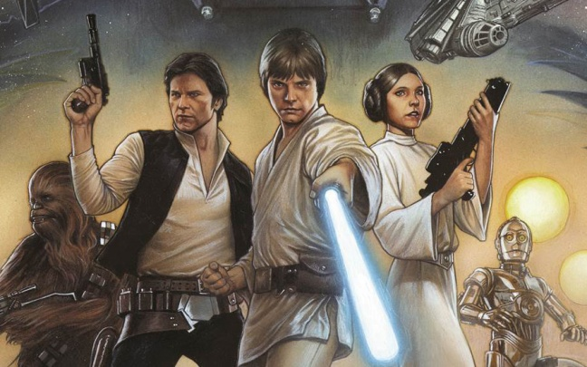 Le tavole ricolorate di Star Wars: Episode IV A New Hope OGN