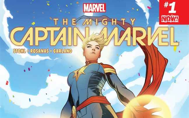 Primo sguardo a The Mighty Captain Marvel #1