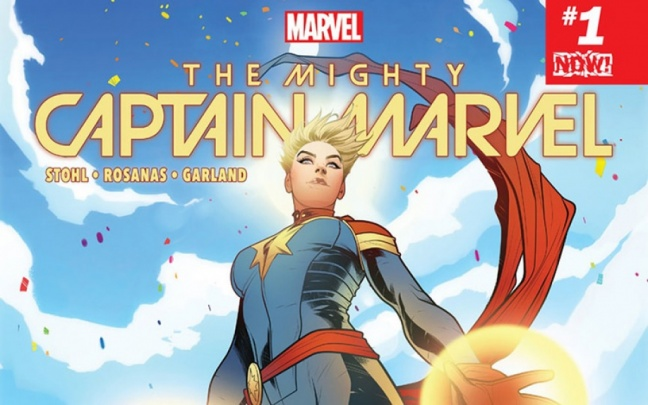 Anteprima di The Mighty Captain Marvel #1