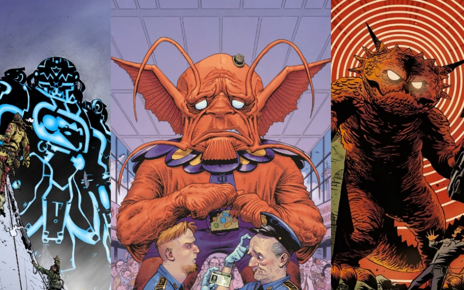 Moore, Francavilla, Pope e Bachalo per le Kirby Monster Variant