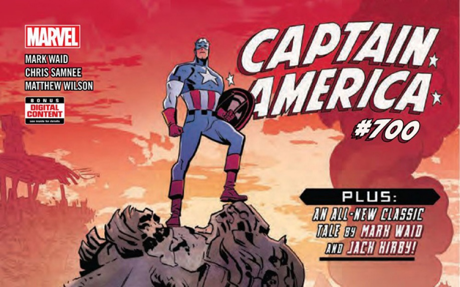 Anteprima di Captain America #700 di Mark Waid e Chris Samnee