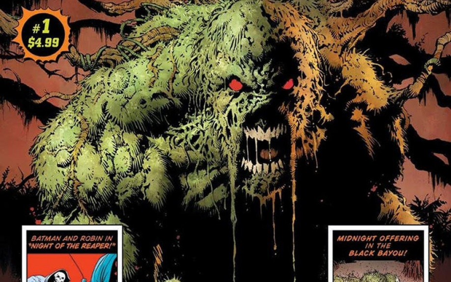 Brian Azzarello e Greg Capullo e lo speciale Halloween di Swamp Thing