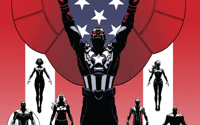 Captain America and The Mighty Avengers #1: anteprima