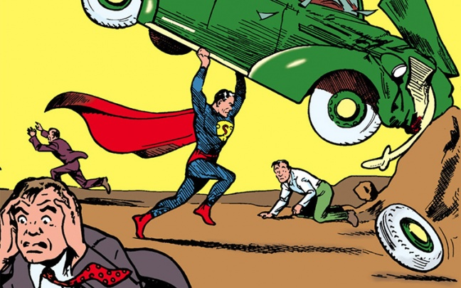 Action Comics entra nel Guinness World Record
