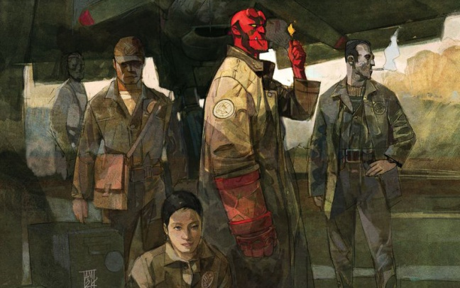 Hellboy And The B.P.R.D. #1: anteprima