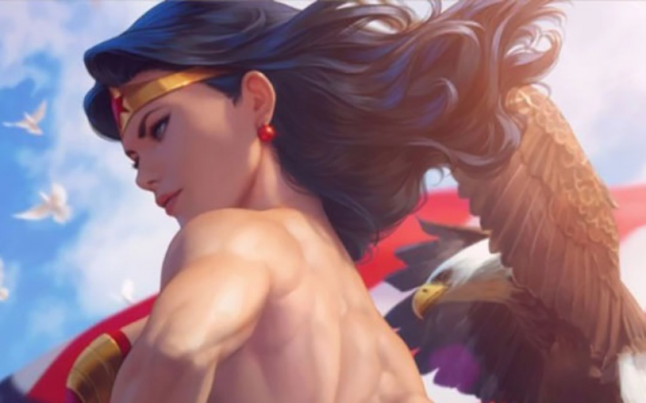 Gli autori di Wonder Woman 750