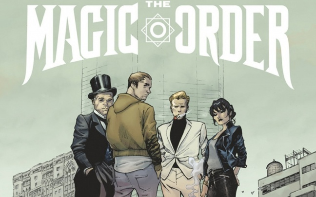 Il trailer di The Magic Order di Millar e Coipel diffuso da Netflix