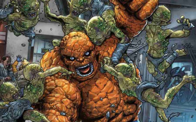 Contagion, un nuovo evento Marvel in 5 parti