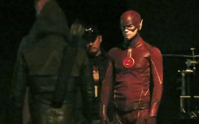 Immagini del crossover The Flash/Arrow
